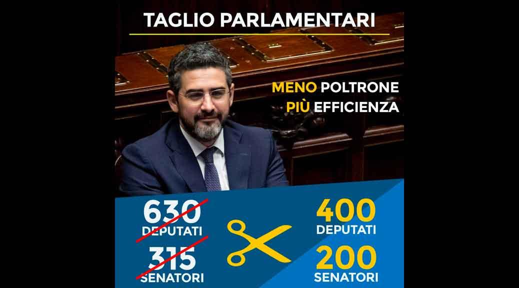 Taglio numero parlamentari fraccaro il parlamento for Parlamentari numero