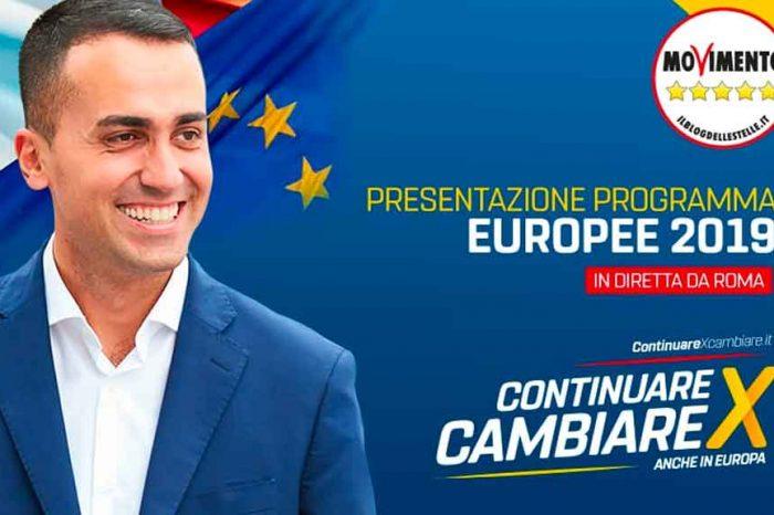 I 10 punti del M5S per le elezioni europee del 26 maggio
