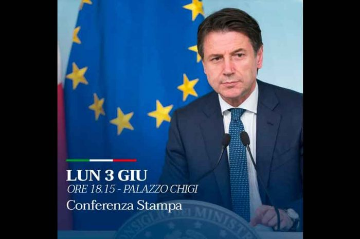 Conte: Oggi alle 18.15 terrò una conferenza stampa a Palazzo Chigi: ho alcune cose importanti da dirvi»