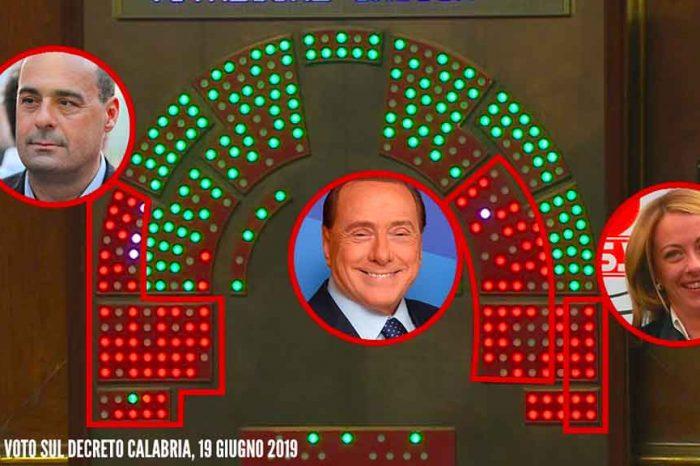 Dl Calabria, M5S: «Pd, Forza Italia e Fratelli d'Italia votano contro merito e trasparenza nella sanità»