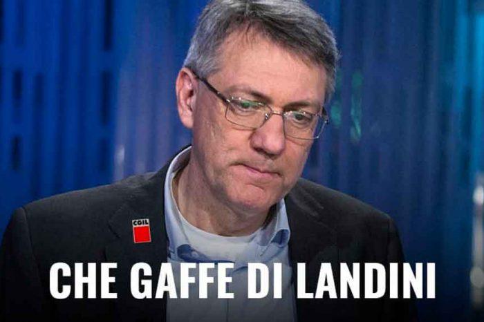 Il M5S attacca Landini: «Sindacalista che fa politica andando contro un governo che difende i lavoratori»