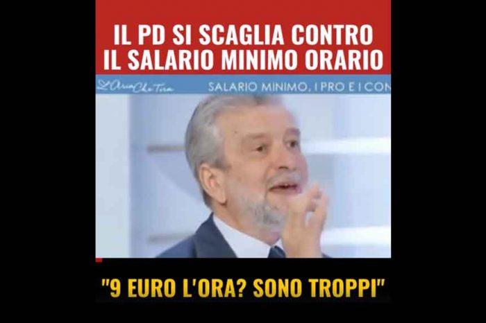Damiano, ex-sindacalista ed ex-ministro del lavoro: «9 euro l'ora sono troppi». M5S: «Vergogna»