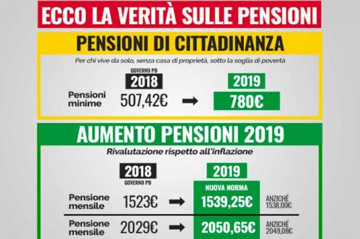 Fake news dei tagli alle pensioni, M5S: «Ecco tutta la verità»