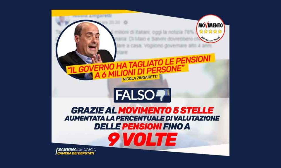 pensioni-zingaretti-falso
