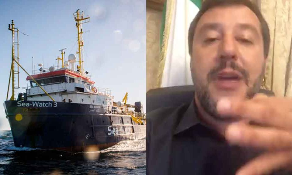 Sea Watch, Salvini contro la capitana Carola Rackete: lo stallo a Lampedusa