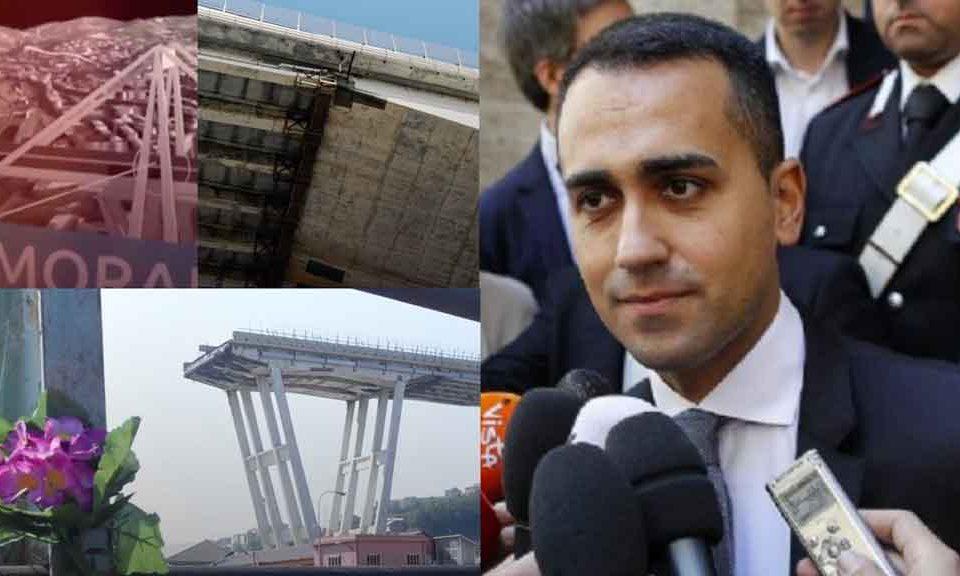 La battaglia dei numeri tra Di Maio e Autostrade sul Ponte Morandi