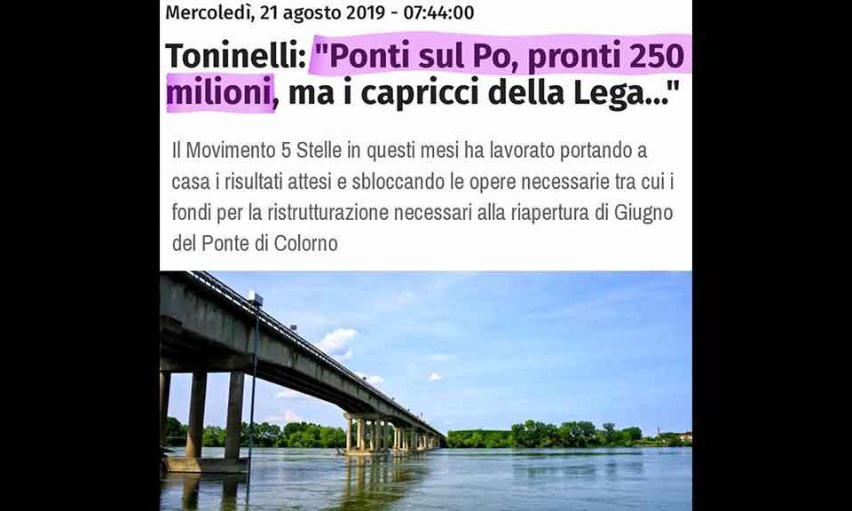Gronda: Toninelli, si farà e sarà utile - Ultima Ora