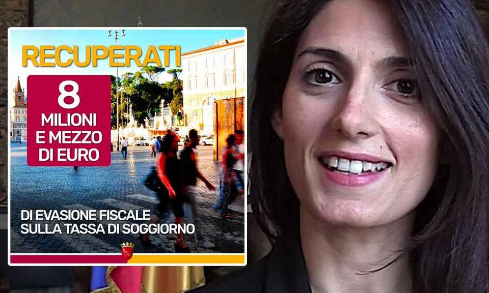 Roma, Raggi: «Recuperati 8,5 milioni di euro di evasione ...