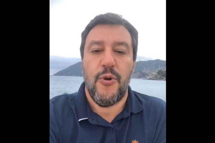 Salvini: 'Presenteremo interrogazione parlamentare sui conflitti d'interesse del premier Conte'