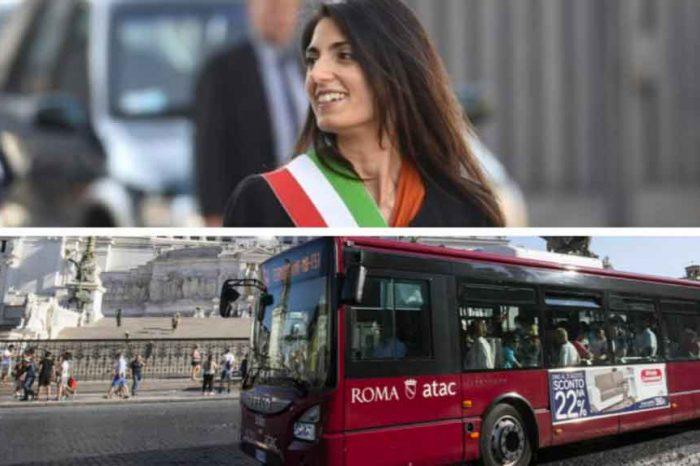 Roma, Raggi: «Atac in utile per la prima volta nella storia»