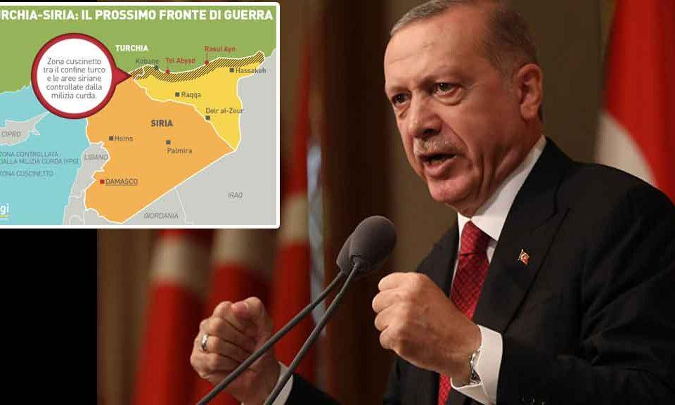 Siria, attacco jihadista al confine. Erdogan all'UE: