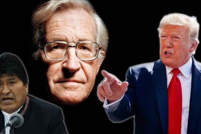 """Bolivia, Chomsky: """"Il golpe è promosso dall'oligarchia boliviana e ha il pieno sostegno del governo degli Stati Uniti"""""""