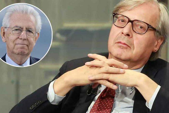 """Sgarbi contro Mario Monti: """"Si dimetta e lasci il suo vitalizio allo Stato"""""""