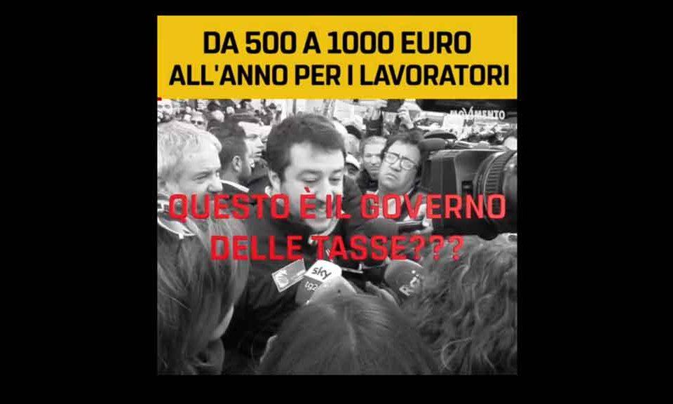 Cuneo fiscale: riduzione in tre fasce
