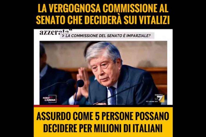 Il M5S contro la commissione che deciderà sui vitalizi: 'Assurdo che 5 persone possano decidere per milioni di italiani'