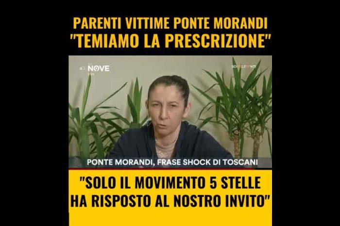 M5S: 'I parenti delle vittime del Ponte Morandi temono la prescrizione'
