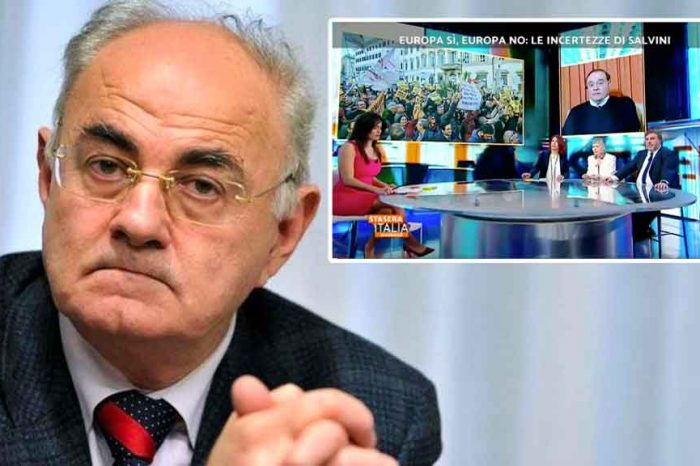 La denuncia del senatore 5Stelle Lannutti: «Hanno imbastito un processo in contumacia contro il M5S su Rete4»