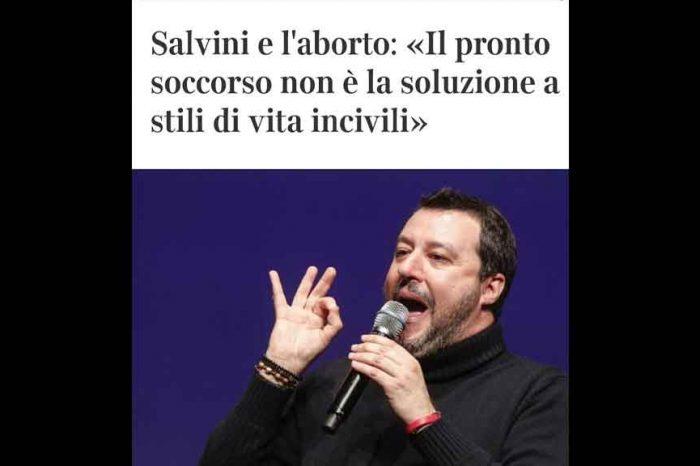 Aborto, Lezzi (M5S): 'Salvini regala lezioni di plateale ignoranza. Non ci serve l'uomo delle caverne'
