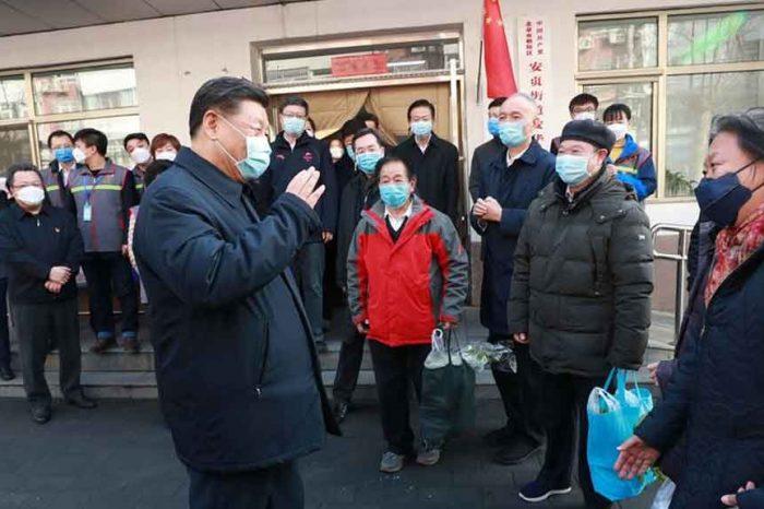 "Coronavirus, Xi Jinping: ""La situazione rimane seria, ma il Paese otterrà una piena vittoria"""