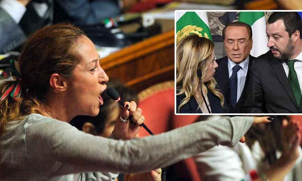 M5S, Taverna attacca Salvini, Meloni e Berlusconi: «Ieri quando si è votato il taglio del cuneo fiscale si sono astenuti»