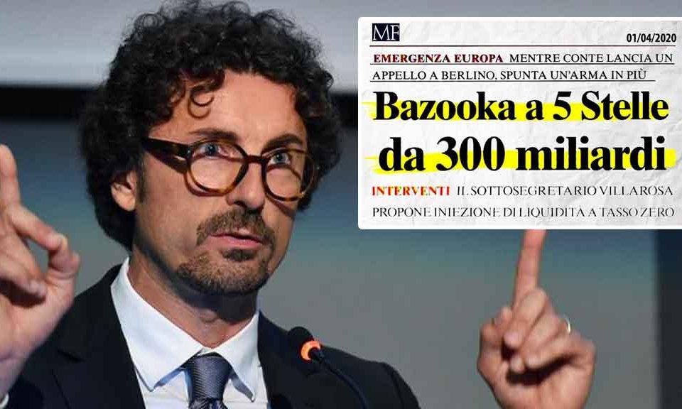 Coronavirus, Toninelli: «Ecco il bazooka a 5Stelle da 300 miliardi: 10mila euro per le famiglie e fino a 250.000mila per partite IVA e imprese»