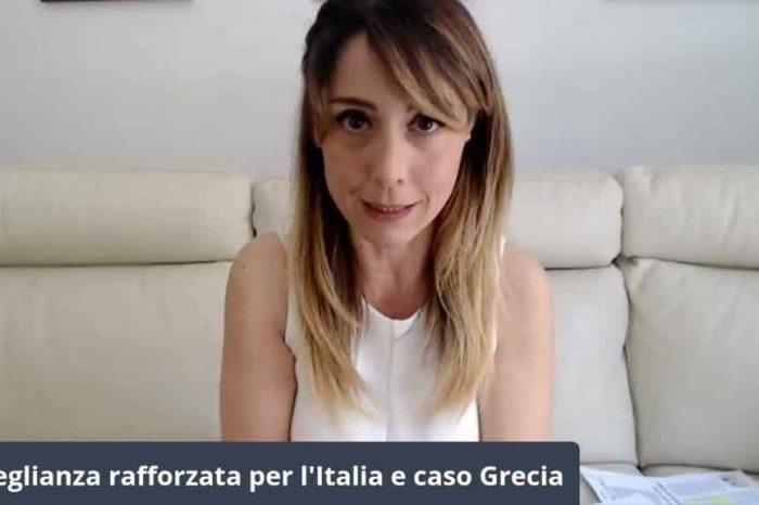 Sorveglianza rafforzata per l'Italia, Lidia Undiemi: «Ci dicono che non finiremo come la Grecia, ma ecco perché il percorso è lo stesso»