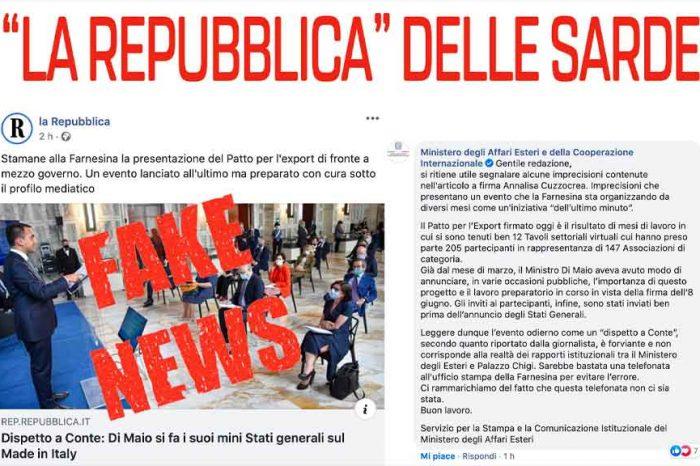 Di Stefano (M5S): «La Repubblica nell'ennesimo tentativo di raccontare un dissidio interno al Governo che non esiste, ha preso una cantonata senza eguali»