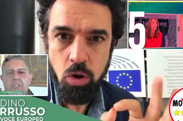Dino Giarrusso (M5S): «Gli ospiti nei talk show non sono tutti uguali. Ecco un esempio perfetto di conduttore parziale»
