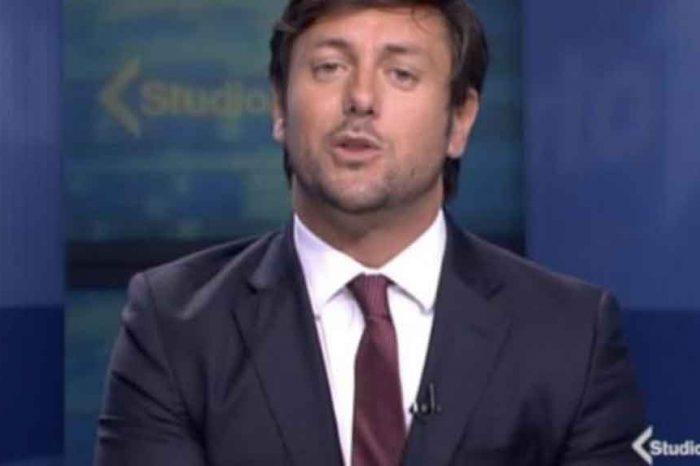 Andrea Giambruno, il compagno di Giorgia Meloni debutta in Mediaset come conduttore di Studio Aperto