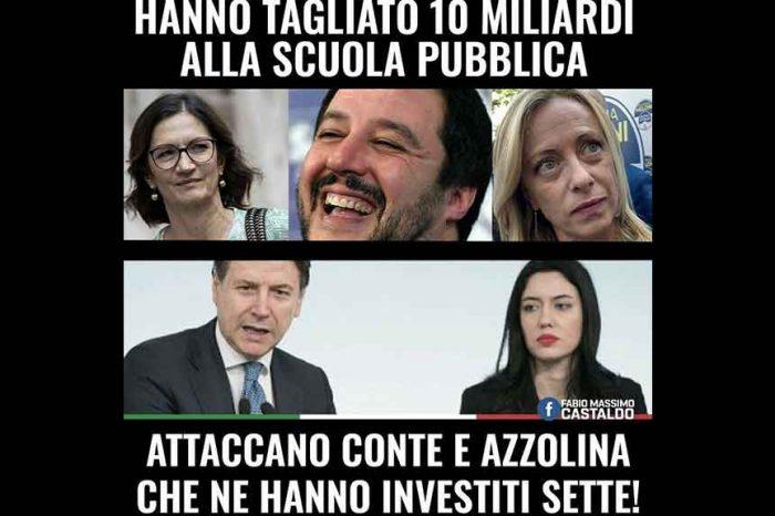 Castaldo (M5S): 'Le opposizioni hanno tagliato 10 miliardi alla scuola pubblica, ma attaccano Conte e Azzolina che ne hanno investiti 7'