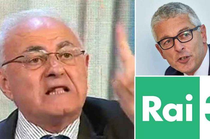 Rai, la petizione di Lannutti (M5S): «Dimissioni Salini (Ad), Di Mare (direttore Rai3) per l'odiosa censura a Nicola Morra»