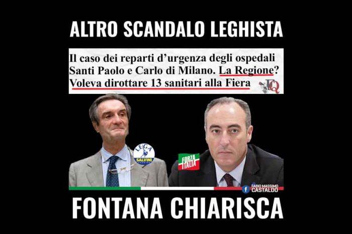Lombardia, Castaldo (M5S): «Altro scandalo leghista: Fontana chiarisca»