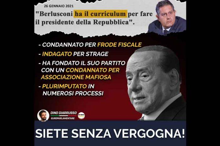 Giarrusso (M5S): 'Berlusconi al Quirinale? L'Italia merita di meglio'