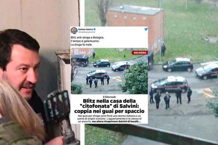 Arrestati i genitori del ragazzo che aveva ricevuto la 'citofonata' da Salvini. Il leghista sui social: «Il tempo è galantuomo»